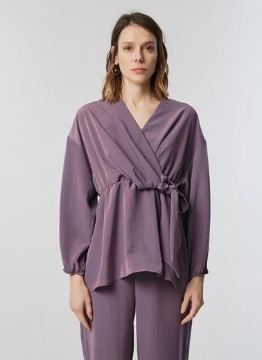 Monamoda Bluz Lila